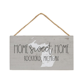 Home Sweet Home PER STATE - Petite Hanging Accent