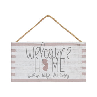 Welcome Home PER STATE - Petite Hanging Accent