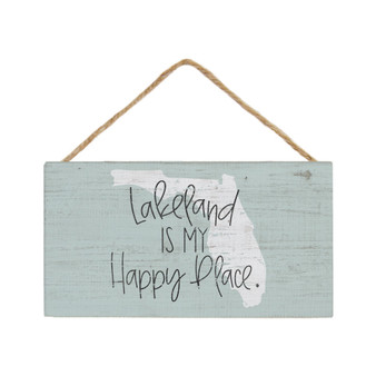 Happy Place PER STATE - Petite Hanging Accent