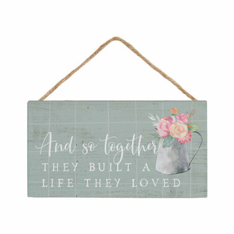 And So Together - Petite Hanging Accent