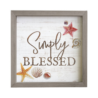 Simply Blessed - Rustic Frame