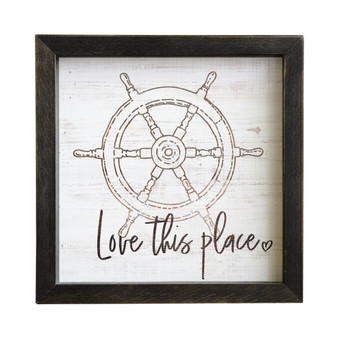 This Place - Rustic Frame