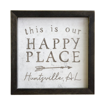 Happy Place PER - Rustic Frame