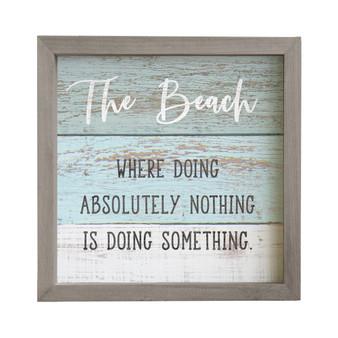 The Beach - Rustic Frame