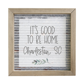 Good To Be Home PER - Rustic Frame