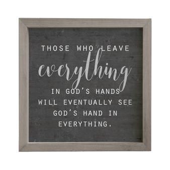 Gods Hands - Rustic Frame
