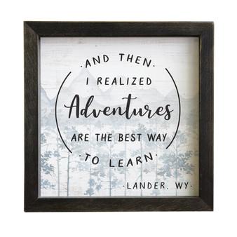 Adventure PER - Rustic Frame