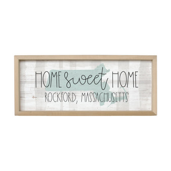 Home Sweet Home PER STATE - Farmhouse Frame