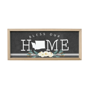 Bless Our Home STATE - Farmhouse Frame
