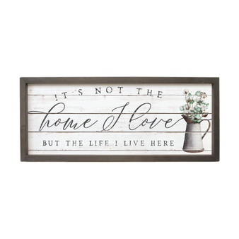 Its Not The Home - Farmhouse Frame