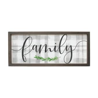 Family - Farmhouse Frame