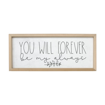 You Will Forever - Farmhouse Frame