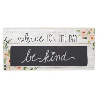 Advice For Day - Chalk Talk