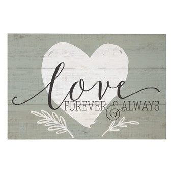 Love Forever & Always - Rustic Pallet