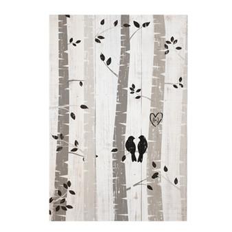 Birds in a Tree PER - Rustic Pallet