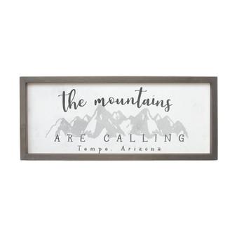The Mountains PER - Farmhouse Frame
