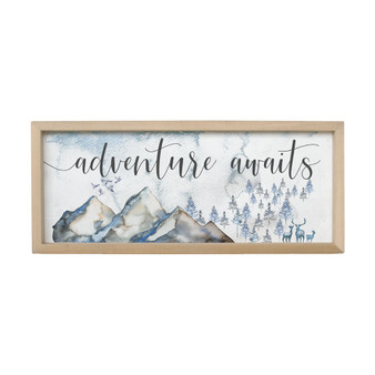 Adventure Awaits - Farmhouse Frame