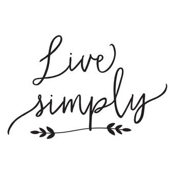 Live Simply - Mini Design