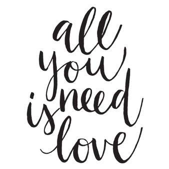 All You Need Is Love - Mini Design
