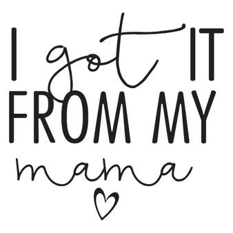 From My Mama - Mini Design