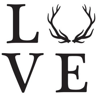 Love Antlers - Mini Design