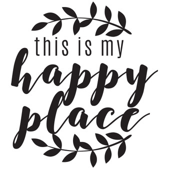 This Is My Happy Place - Mini Design