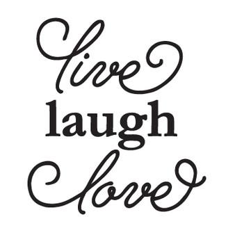 live laugh love - Mini Design