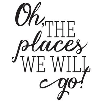 Oh the places - Mini Design