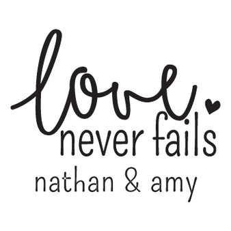 Love Never Fails PER - Mini Design