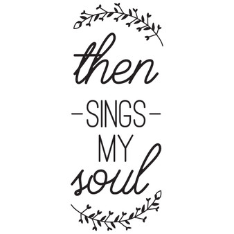 Then Sings My Soul - Rectangle Design