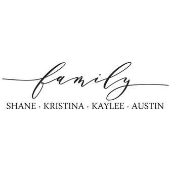 Family PER - Rectangle Design
