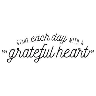 Grateful Heart - Rectangle Design