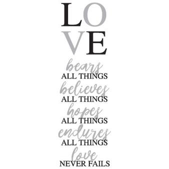 LOVE - Rectangle Design