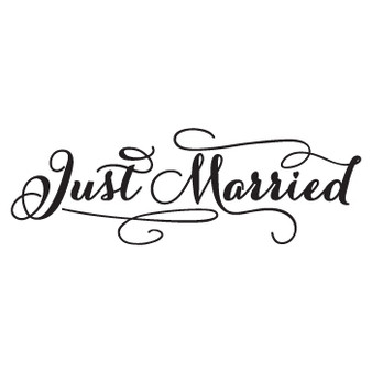 Just Married - Rectangle Design
