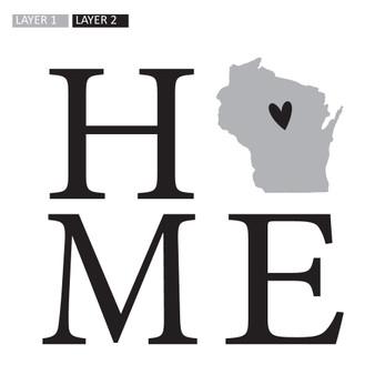 Home State STATE - Square Design
