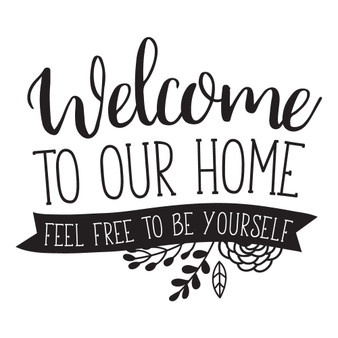 Welcome To Our Home - Square Design
