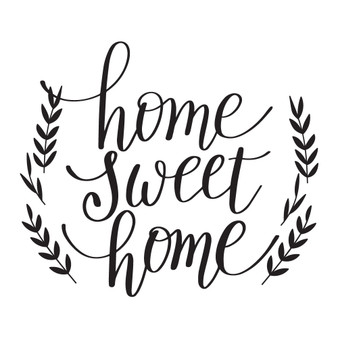 Home Sweet Home - Square Design