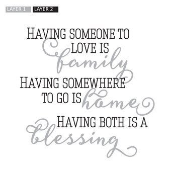Having Both is a Blessing - Square Design
