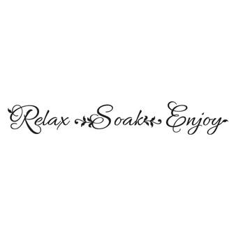 Relax Soak Enjoy - Wall Design