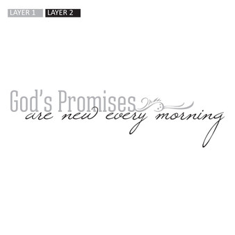 God's Promises - Wall Design