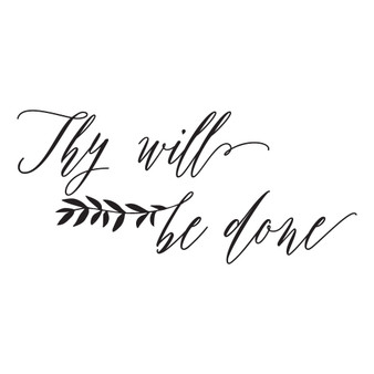 Thy Will Be Done - Wall Design
