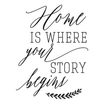 Your Story Begins - Wall Design