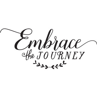 Embrace the Journey - Wall Design