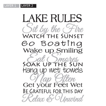 Lake Rules - Wall Design