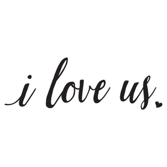 i love us - Wall Design