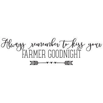 Farmer Goodnight - Wall Design