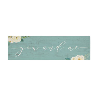 You And Me - Vintage Pallet Board
