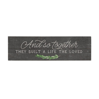 And So Together - Vintage Pallet Board