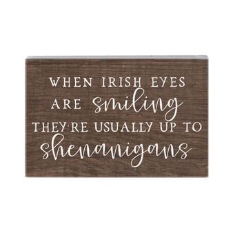 Irish Eyes - Small Talk Rectangle