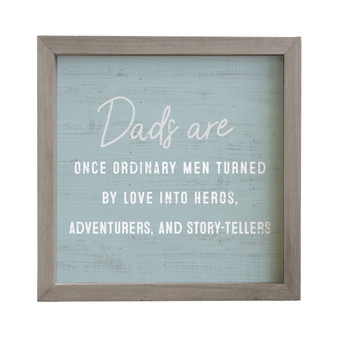 Dads Turned By Love PER - Rustic Frame